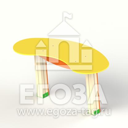 Изображение Столик-лавочка для песочницы 1221