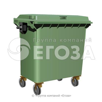 Изображение Евроконтейнер пластиковый 660л