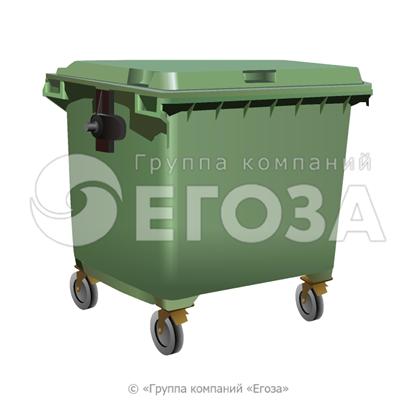 Изображение Евроконтейнер пластиковый 1100л